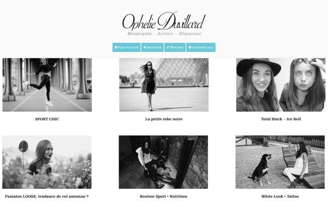 Ophelie Duvillard screenshot