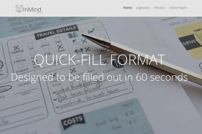 BearInMind Log Books screenshot