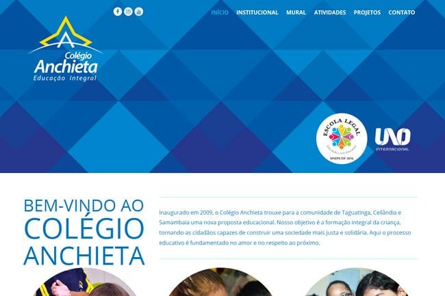Colegio Anchieta screenshot