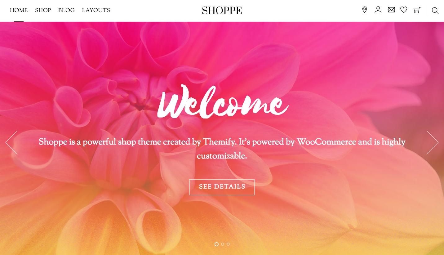 Sneak Peak New Shoppe Theme Themify