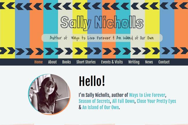 Sally Nicholls screenshot