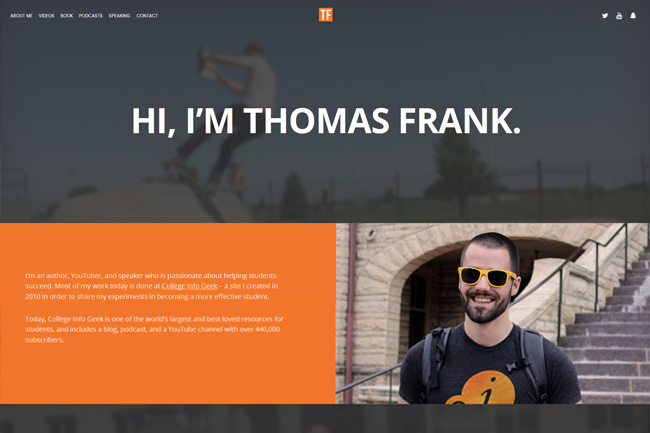 Thomas Frank screenshot