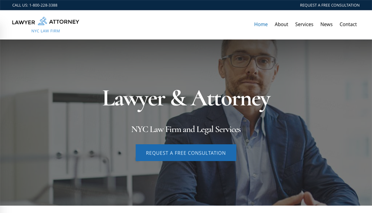 WordPress theme Build the Perfect Business Layout with the New Ultra Lawyer Skin!
