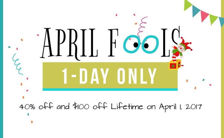 April Fools Sale