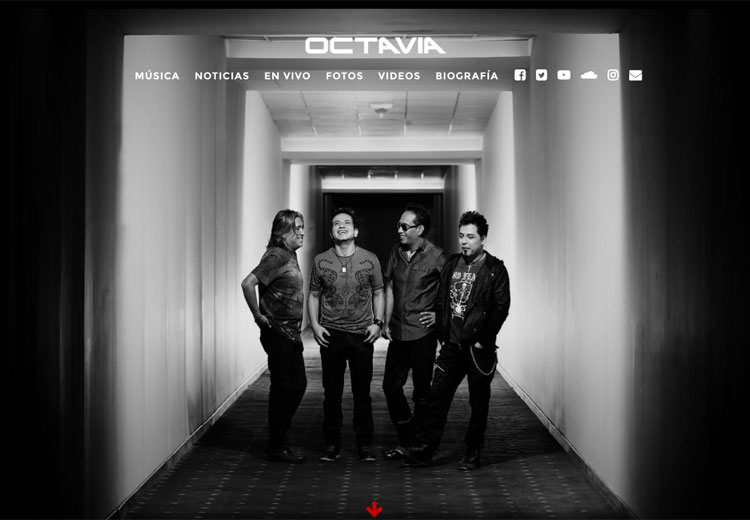 Octavia homepage