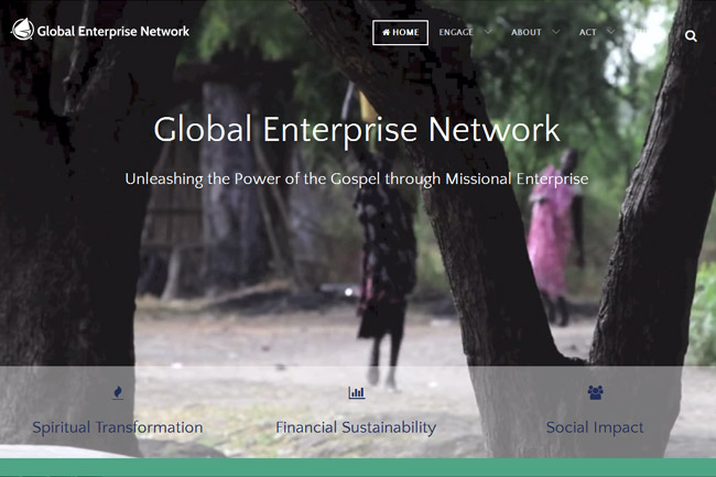 Global Enterprise Network screenshot