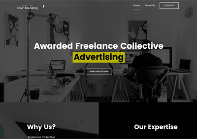 GWF Branding screenshot