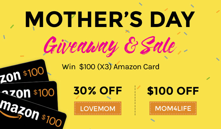 WordPress theme Mother's Day $100 Gift Card Giveaway + Sale!
