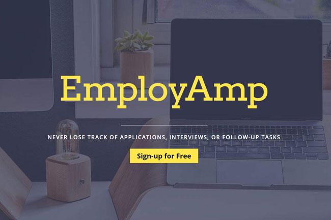 Employamp screenshot