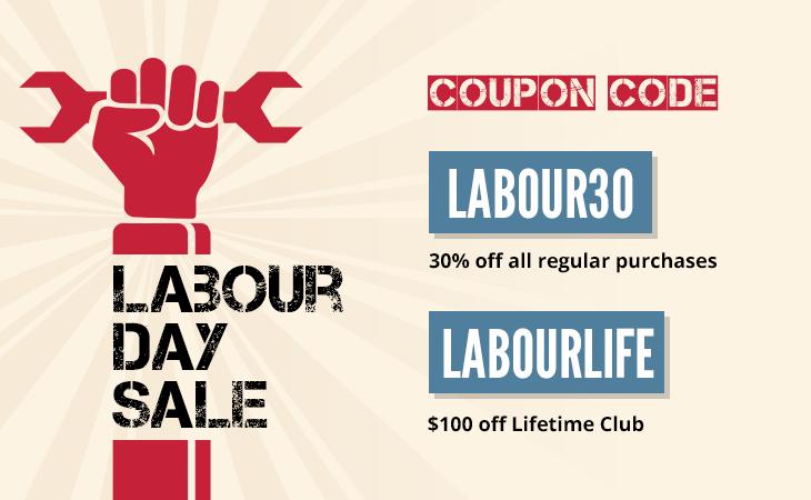 labour day sale 2017