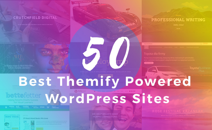 50 Best Themify WordPress Sites