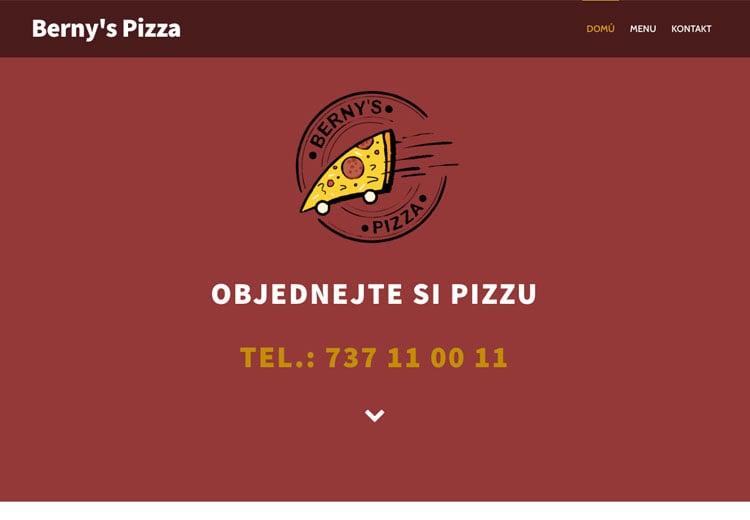 Berny's Pizza screenshot