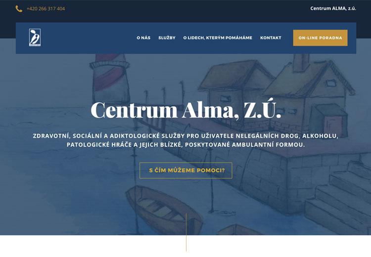 Centrum Alma screenshot