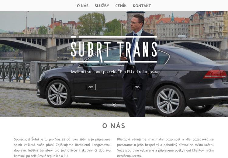 subtr trans screenshot