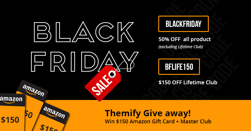 EPIC 50% OFF Black Friday Sale + FREE $150 Amazon Gift Card