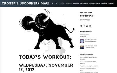Crossfit Upcountry Maui Screenshot