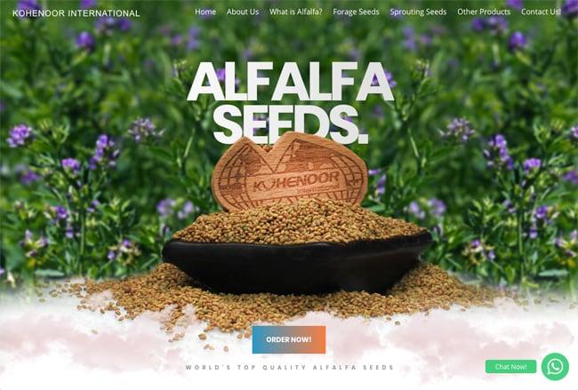Alfalfa Seeds screenshot