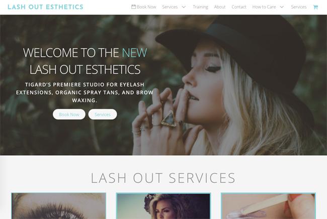 Lash Out Esthetics screenshot