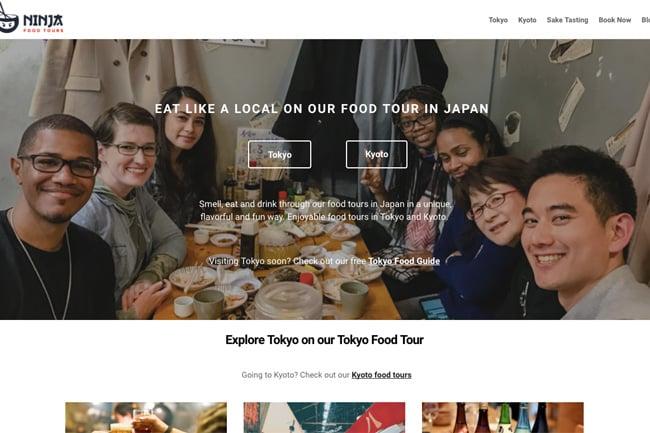 Ninja Food Tours screenshot