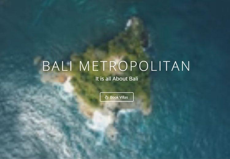 Bali Metropolitan screenshot