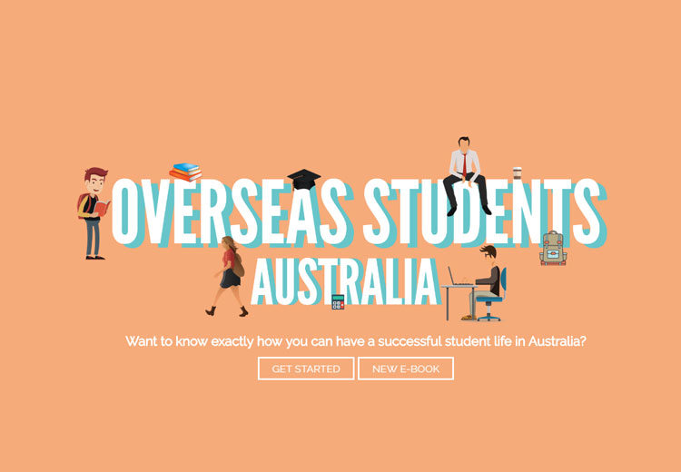Overseas Students Australia screenshot