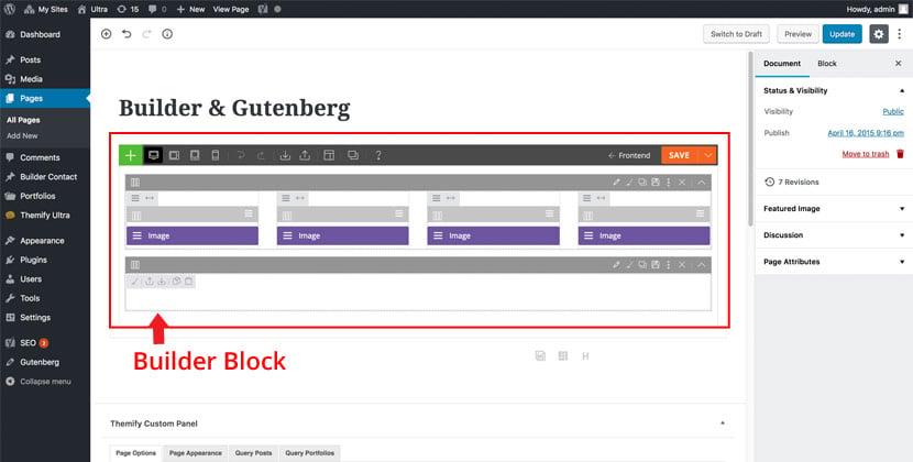 With Gutenberg