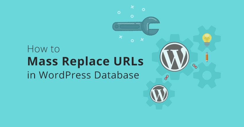 How to replace URLs tutorial
