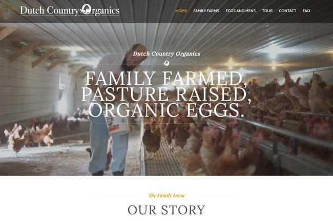 Dutch Country Organics screenshot