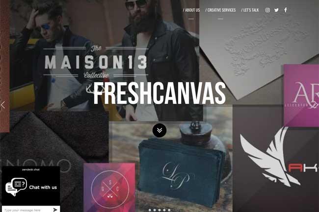 Freshcanvas screenshot