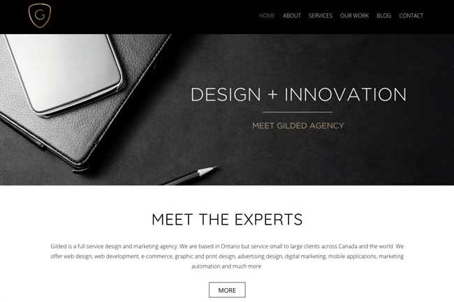 Gilded Agency screenshot