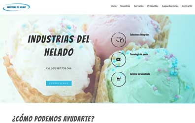 Industrias Del Helado Screenshot