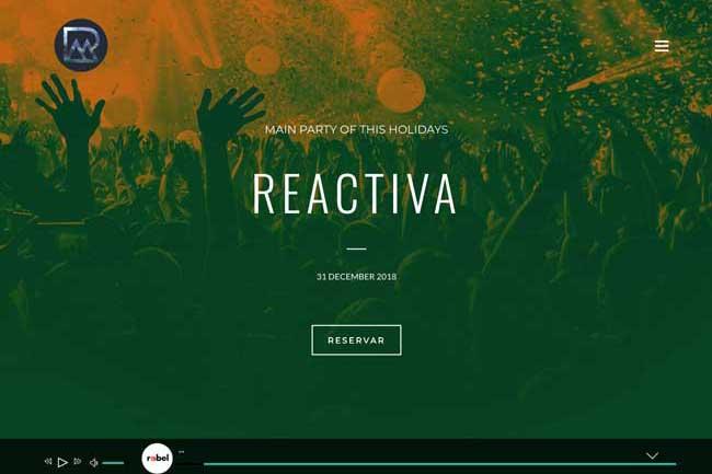 Reactiva Producciones screenshot