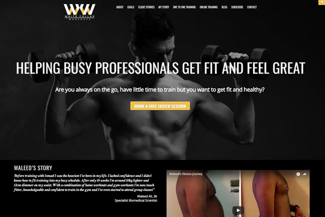 WordPress Theme for Building Landing Pages
