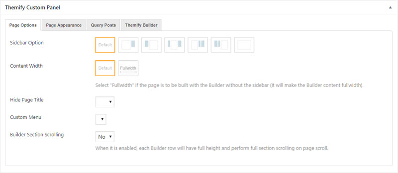 This is themify custom panel query posts