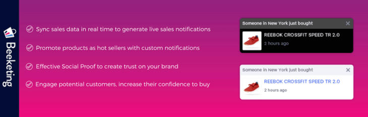 WooCommerce Live Sales Notification (Recent Sales Popups)