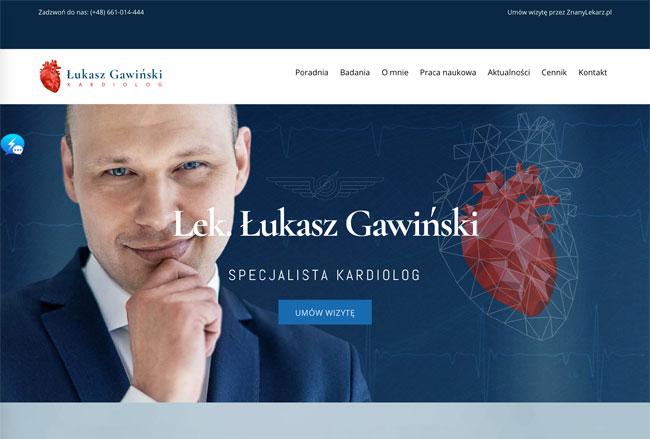 lukasz Gawinski Screenshot