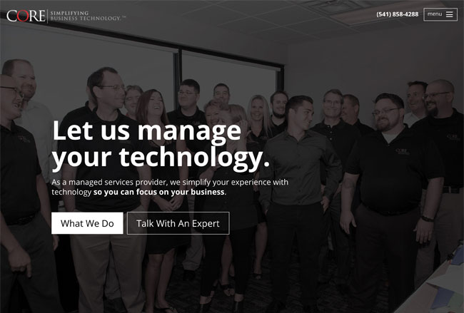 Simplifying Business Technology Screenshot