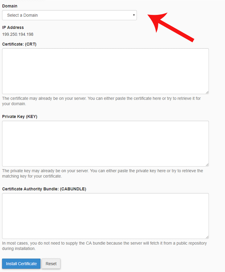 Install Certificates
