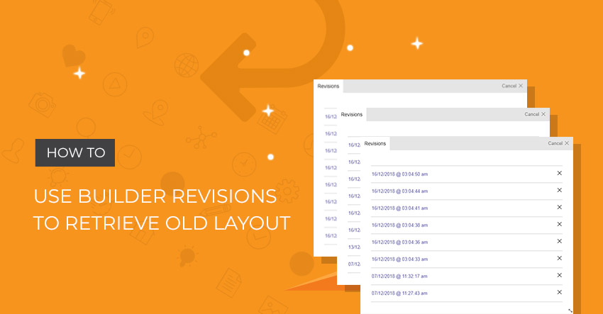 Themify Tutorial Builder Revisions