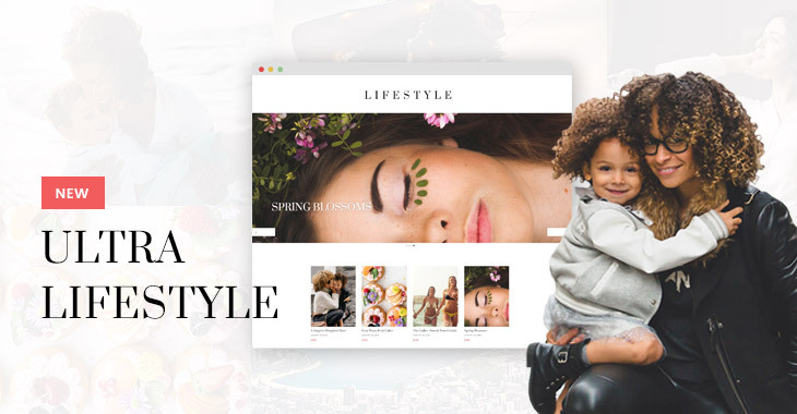 Themify Ultra Lifestyle Skin Homepage