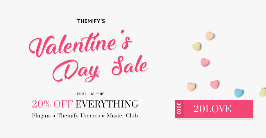 Themify Valentine's Day Sale 2019