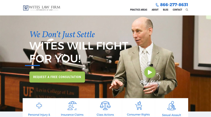 Wites Law Firm Themify Ultra Theme