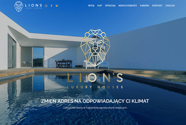 Lion's Luxury Houses Screenshot