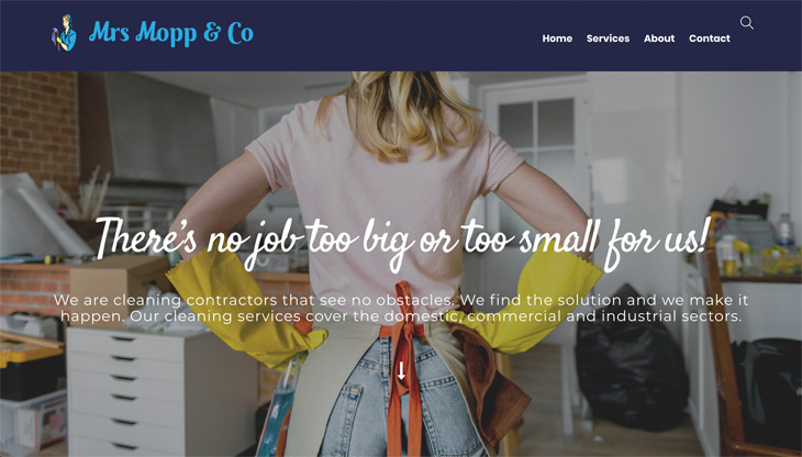 Mrs Mopp and Co WordPress Themify Ultra Theme