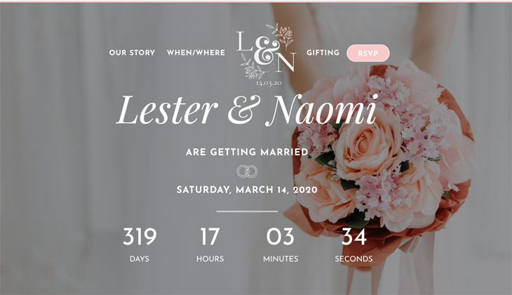 Seal The Vow Wedding Site WordPress Themify Ultra Theme