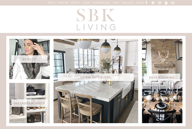 SBK Living Screenshot