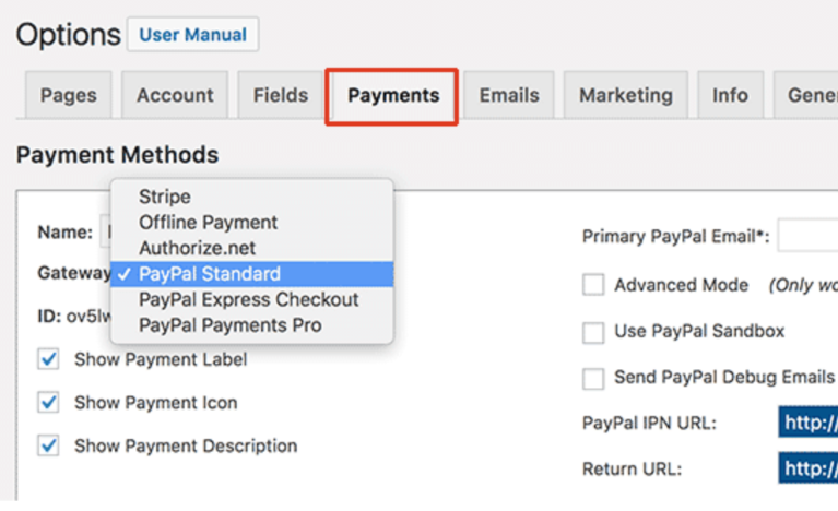 WordPress Tutorial Memberpress Payment Options