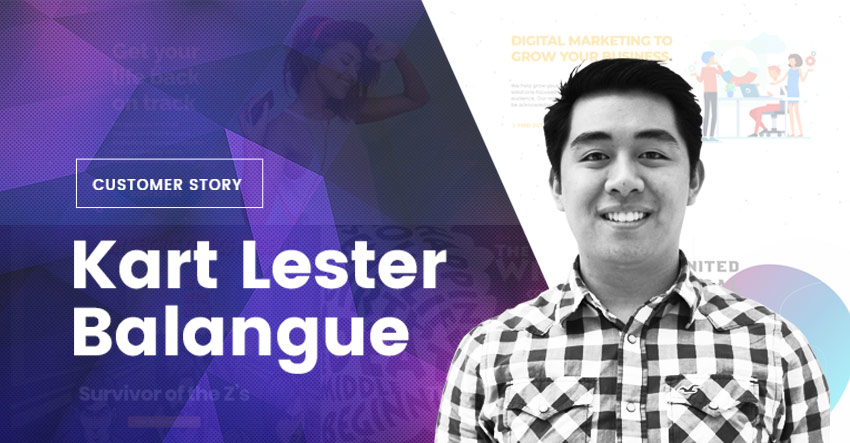How I Created My Own Digital Marketing Agency Website – Kart Lester Balangue