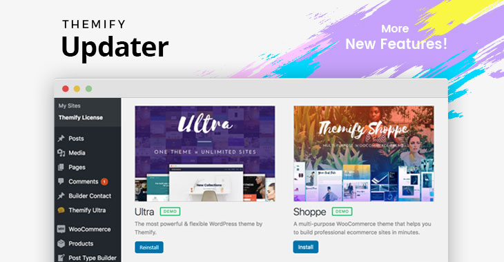 themify-updater-plugin-new-features