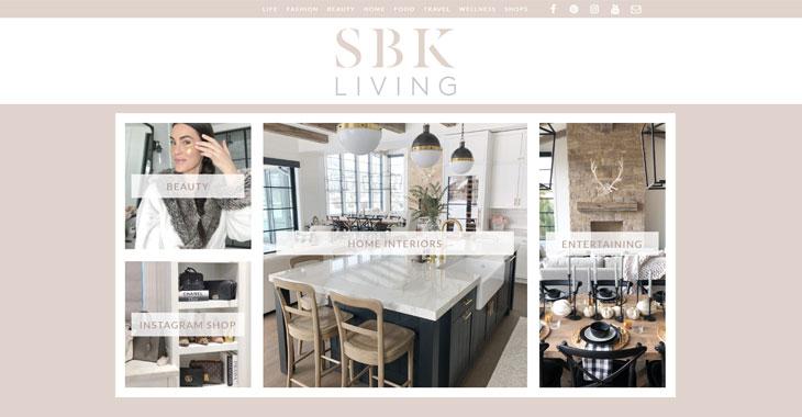 SKB Living Themify Lifestyle Blog screenshot